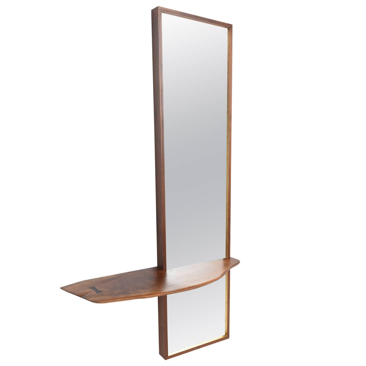 phillip collection furniture. Rare Phillip Lloyd Powell Shelf And Wall Mirror For Sale Collection Furniture O
