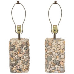 River Rock Table Lamps