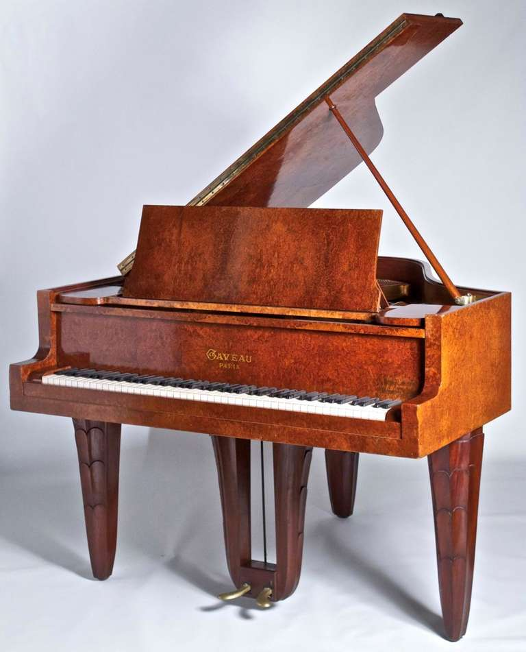 Early 20th Century Maurice Dufrene 1925 Paris Expo Piano For Sale