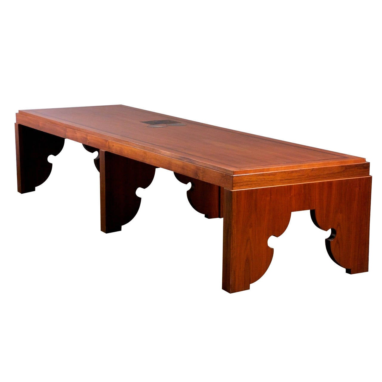 Huge custom center coffee table for sale at 1stdibs for Center table coffee table