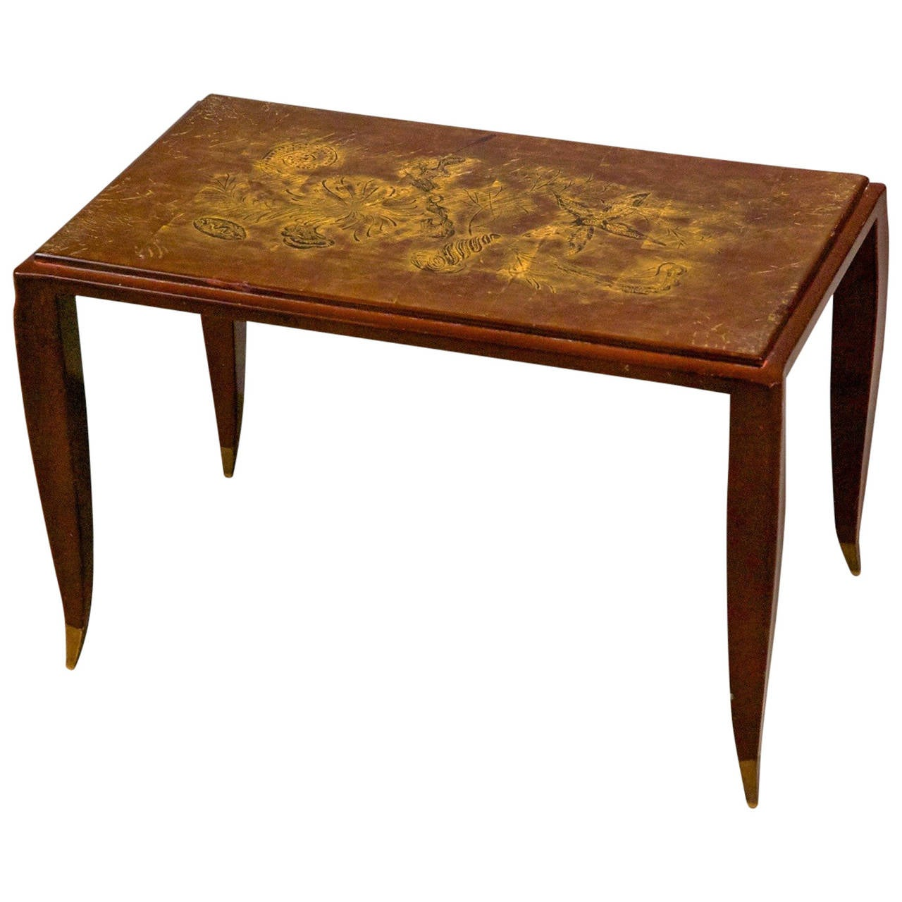 Jean Pascaud Small Lacquered Side or Coffee Table For Sale  : 1093848l from www.1stdibs.com size 1280 x 1280 jpeg 109kB