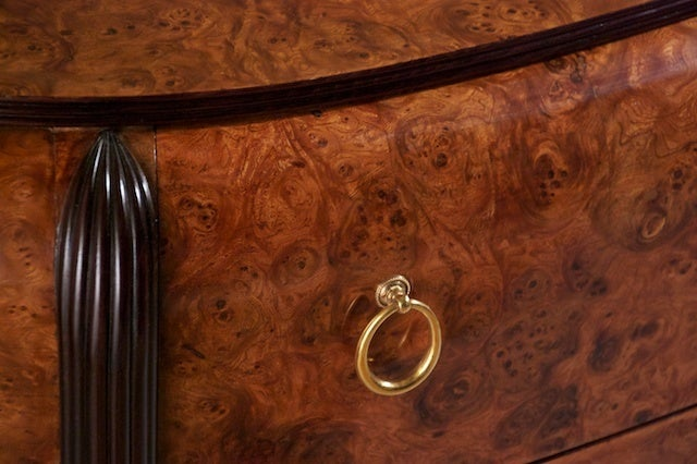 French Michel Dufet Cabinet For Sale