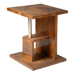 French Modernist Side Table