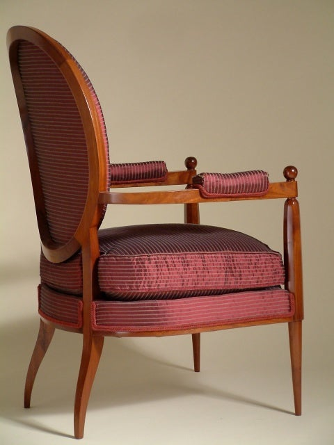 20th Century Ruhlmann Armchair For Sale