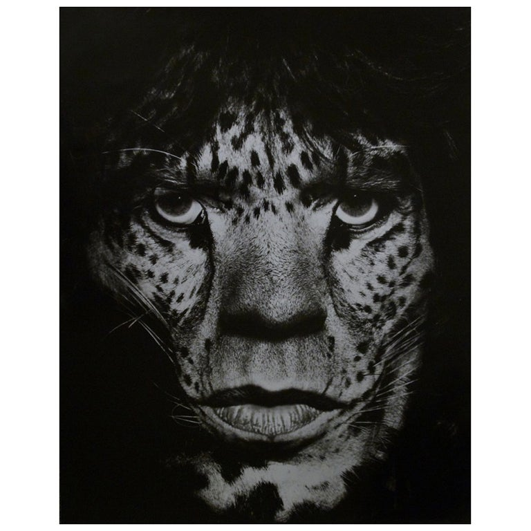 Albert Watson Portrait of Mick Jagger as Jaguar For Sale