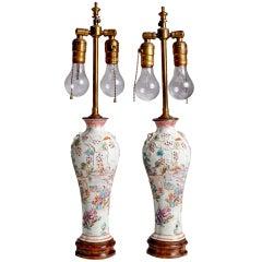 Oriental Porcelain Lamps