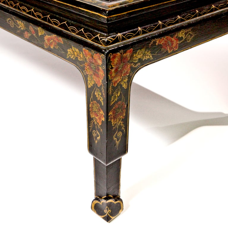 18th Century and Earlier Chinese Lacquered Coffee Table For Sale