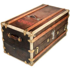 French Steamer Trunk