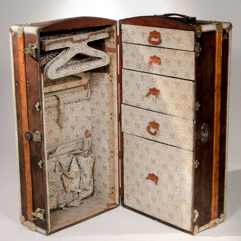 French Steamer Trunk In Good Condition In New York, NY