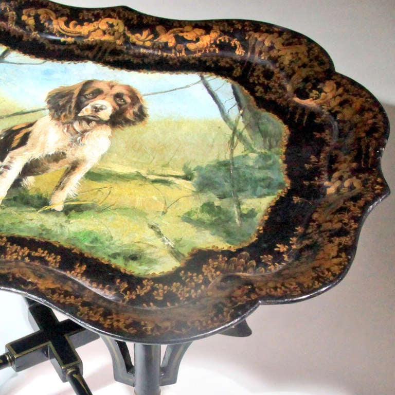 English Tray Table In Good Condition For Sale In New York, NY