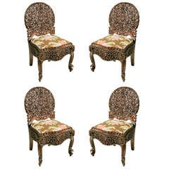 Set of Burmese Chairs