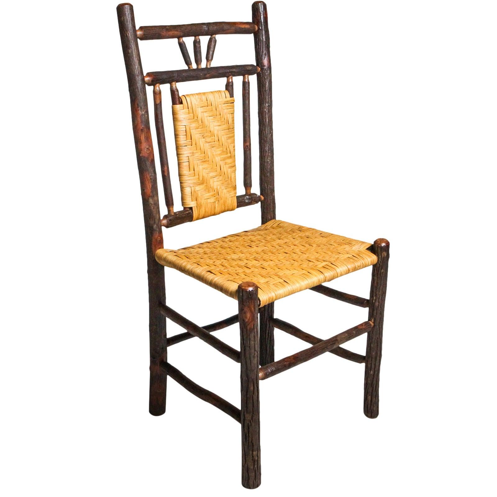 Adirondack Woven Seat Chair