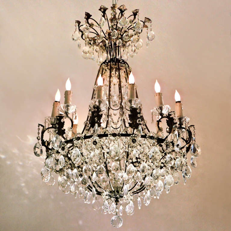 French Crystal Chandelier 2