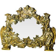Italian Repousse Mirror