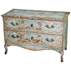 18th Century Painted Venetian Commode