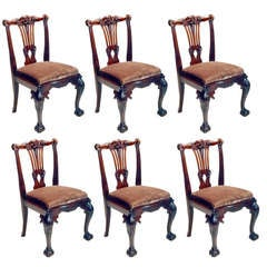 Irish Mahogany Chairs