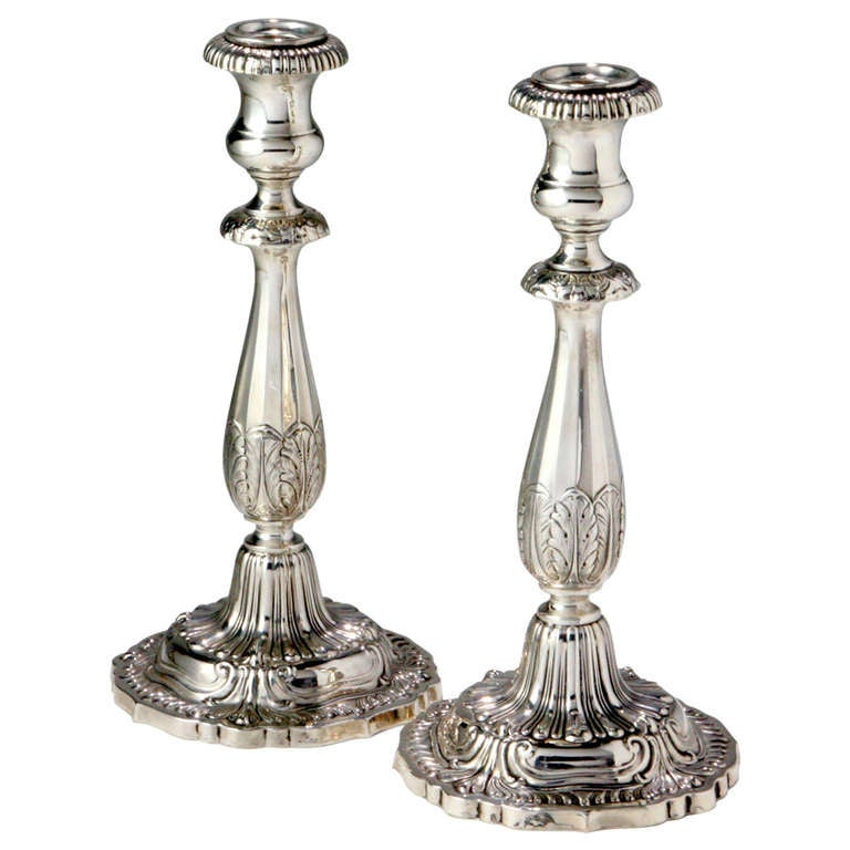Silver Candlesticks For Sale At 1stdibs