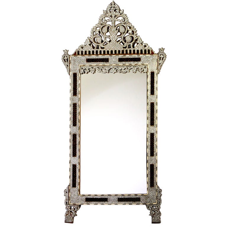 Large Syrian Mirror