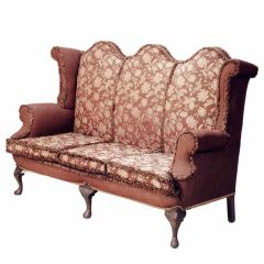 Triple Camelback Sofa