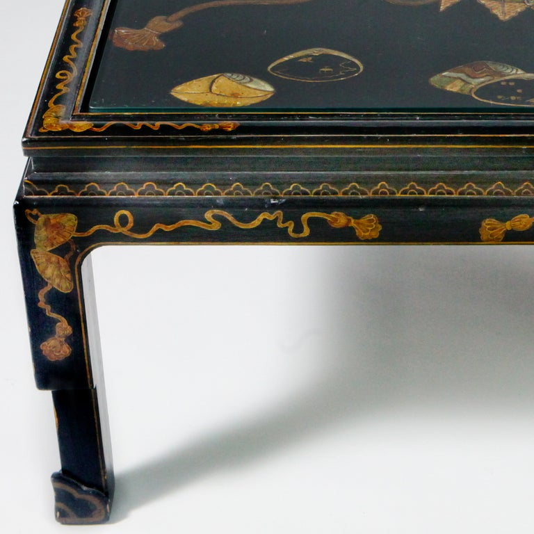Chinese Lacquered Coffee Table 3