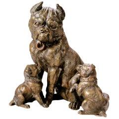 Bronze Bulldog Humidor