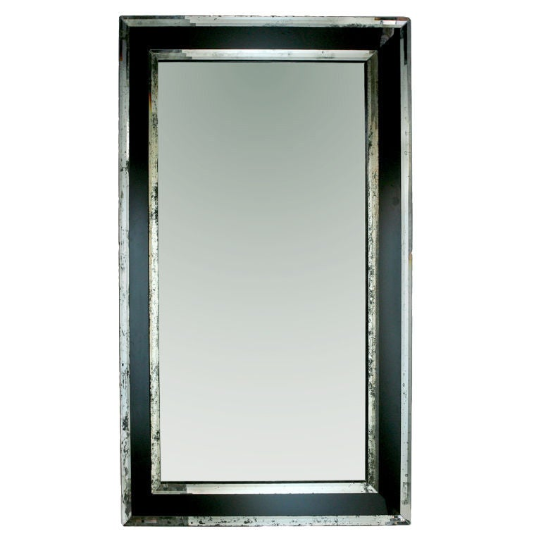 extra large mirrored mirror at 1stdibs