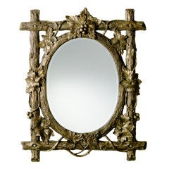 Bronze Woodland Mirror