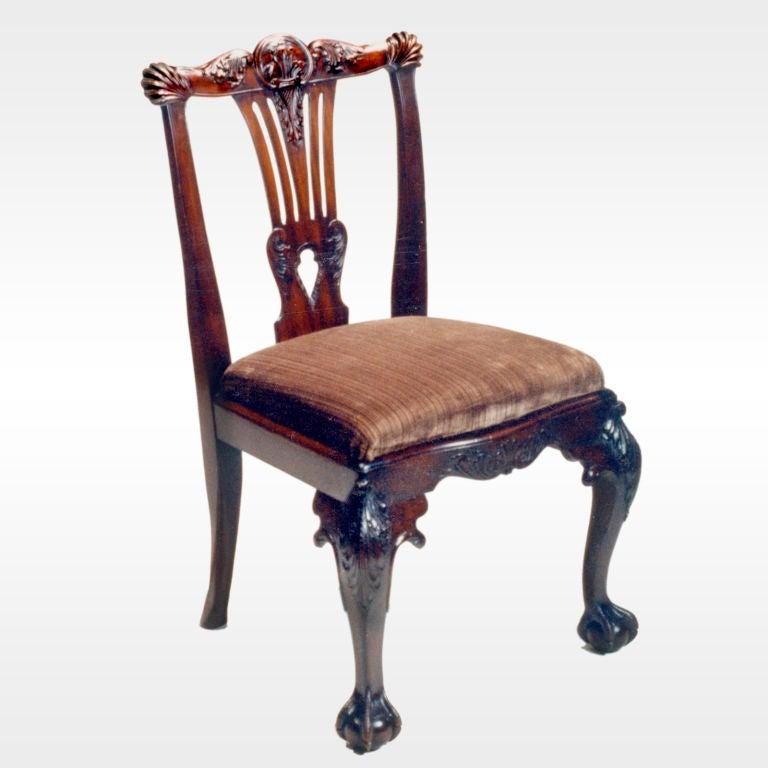 Dublin Metal Dining Chair: Irish Mahogany Chairs For Sale At 1stdibs