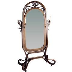 Bentwood Mirror