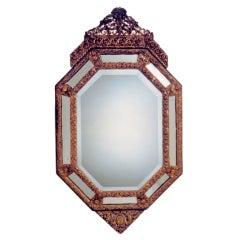 Brass Cushion Mirror