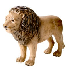 Vintage English Toy Lion