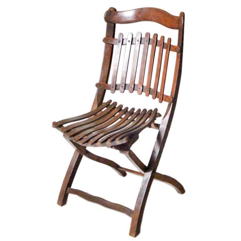Unique Chair: Unique Folding Chair At 1stdibs
