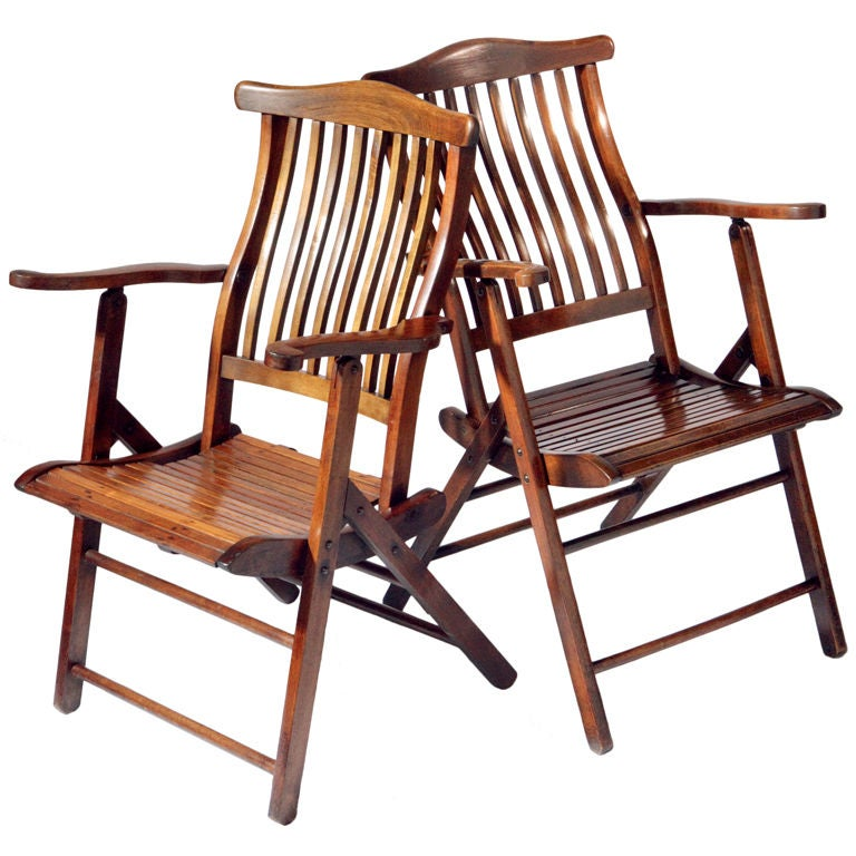 Ship S Deck Chair At 1stdibs