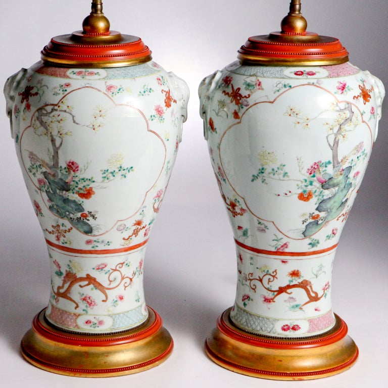 Oriental Flower Lamps For Sale At 1stdibs