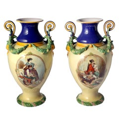 Pair of Minton Vases