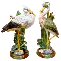 Holdcroft Heron and Stork Vases