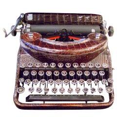 Rare Travel Typewriter