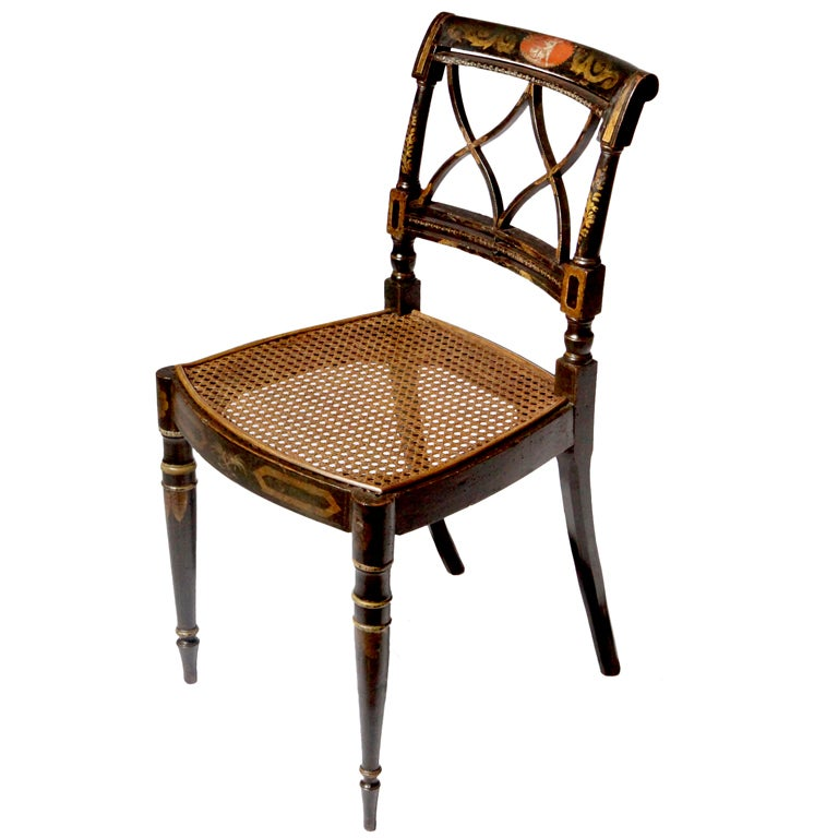 Regency style chair at stdibs