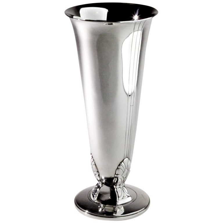 sterling silver tiffany vase at 1stdibs
