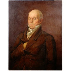 John Quincy Adams Oil Painting