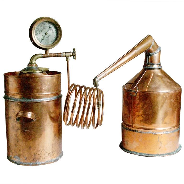 Vintage Copper Still At 1stdibs