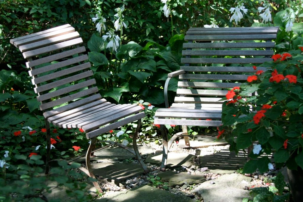 French Garden Side Chair For Sale 5