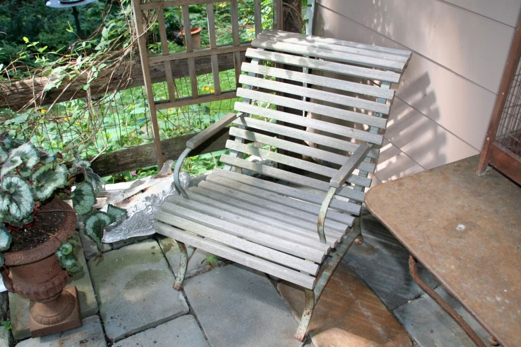 French Garden Armchair For Sale 3