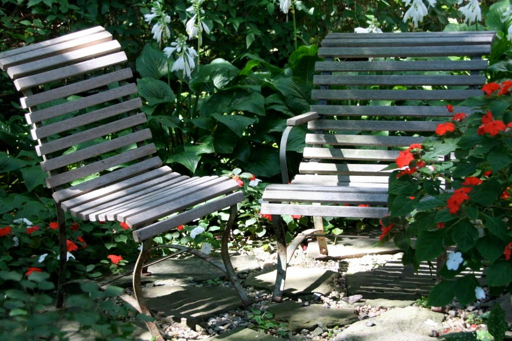 French Garden Armchair For Sale 4