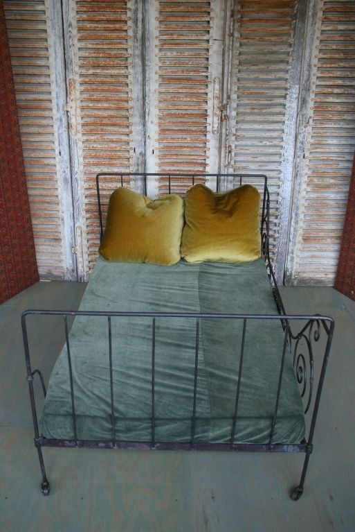 Folding Iron Bed For Sale 1
