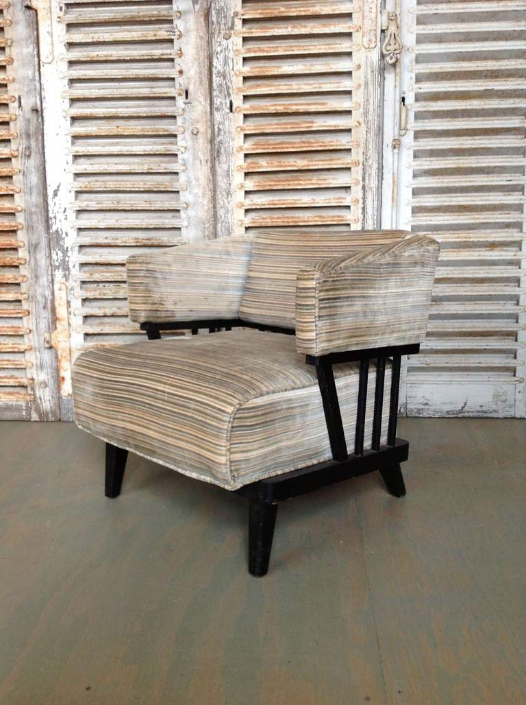 American Pair of Mid-Century Modern Chairs For Sale