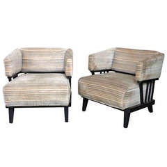 Pair of Mid-Century Modern Chairs