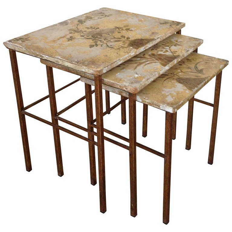 Set of Spanish Nesting Tables