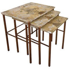 Set of Spanish Nesting Tables