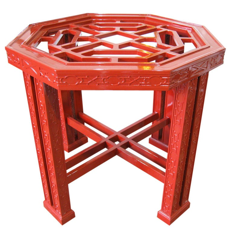 Superb Chinese Chippendale Style Table Base At 1stdibs